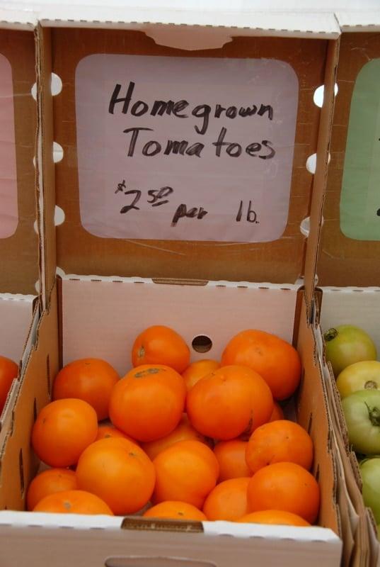 Vail Farmer's Market Tomatoes