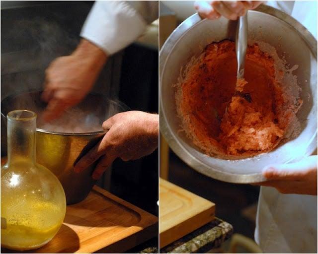 Izu ice cream molecular gastronomy