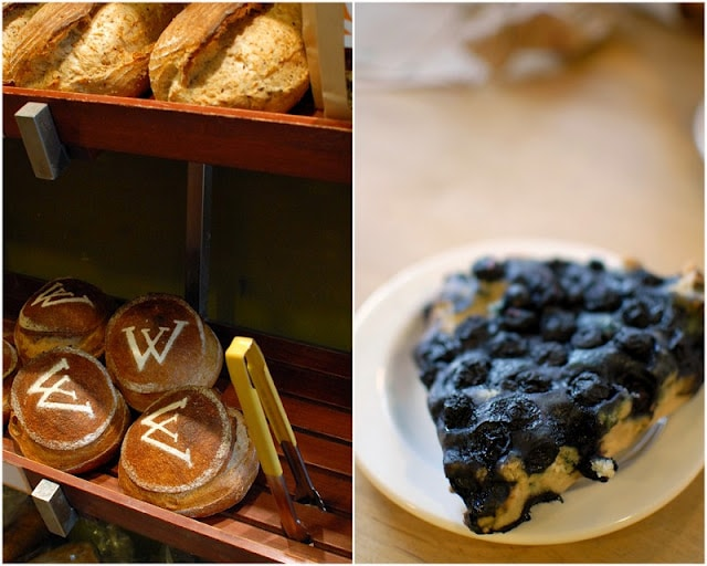 local bakery goods in Banff