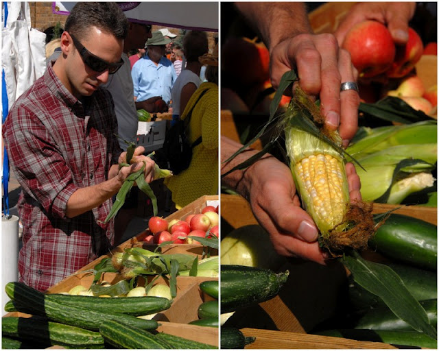 Chef Shawn Cubberley at Vail Farmers Market