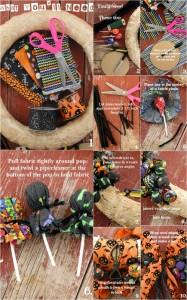 DIY Halloween Treat Wreath | BoulderLocavore.com