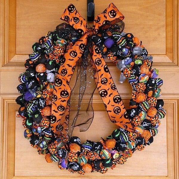 Best Halloween Treat Wreath BoulderLocavore.com