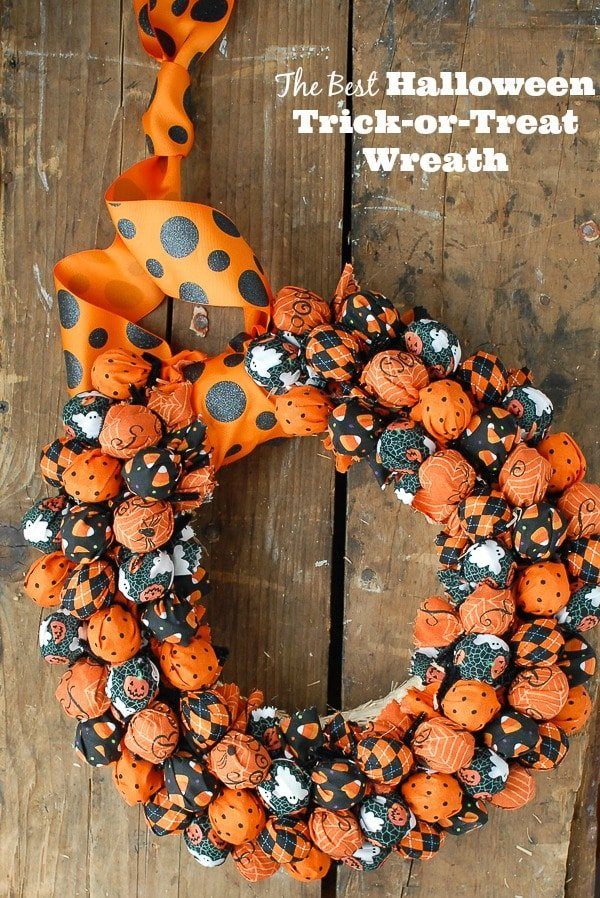 Best Halloween Wreath DIY - BoulderLocavore