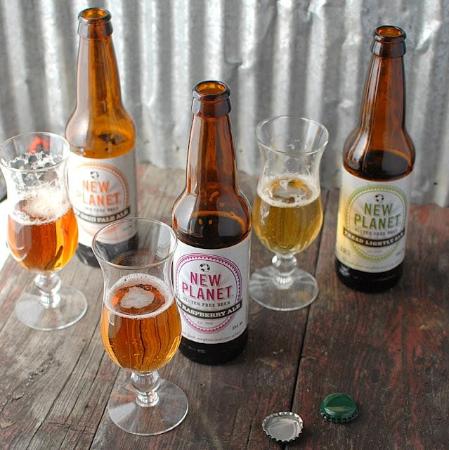 Planet Gluten Free beer tasting