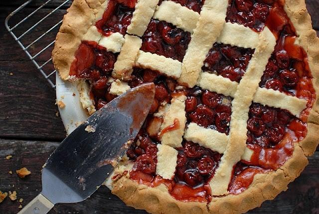President's Birthday Cherry Pie | BoulderLocavore.com