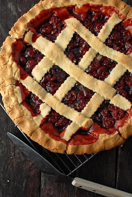 The Best President's Birthday Cherry Pie | BoulderLocavore.com