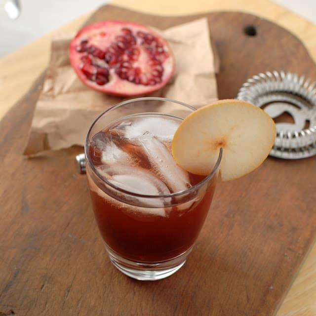 ginger vodka cocktail