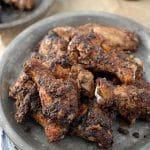 Wild Rice-Sumac-Cayenne Wings and New Planet Gluten Free Beer