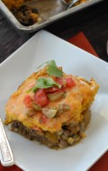 Black Bean Pumpkin Tamale Pie