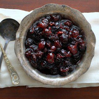Brandied Cranberries | BoulderLocavore.com