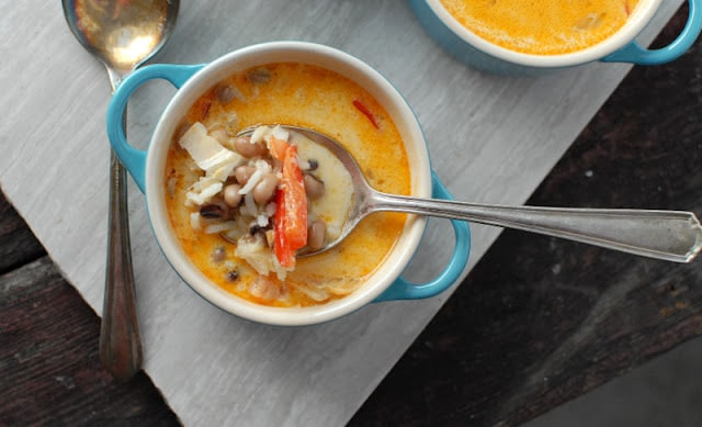 Coconut Black Eyed Pea Soup BoulderLocavore.com