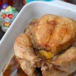 El Dia de los Muertos and THE BEST Lemon Roasted Chicken