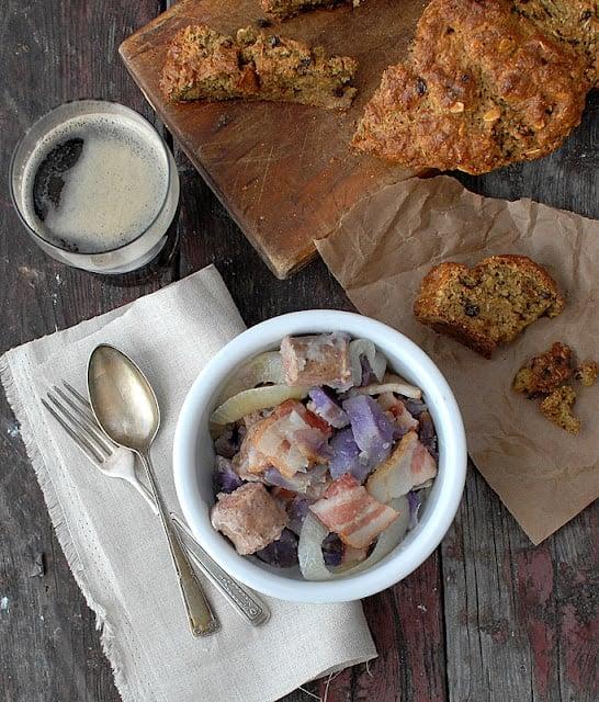 Dublin Coddle with gluten-free Irish Soda Bread | BoulderLocavore.com