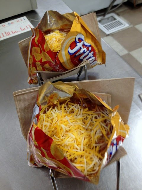 Walking Size Frito Pie, Santa Fe, NM | BoulderLocavore.com