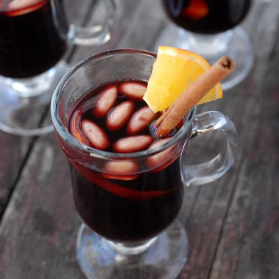 Glogg: Scandanavian Mulled Wine. A homemade spiced wine perfect for winter sipping! | BoulderLocavore.com