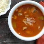 Old School Minestrone Soup