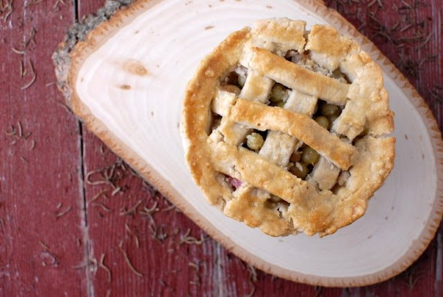gooseberry pie from above