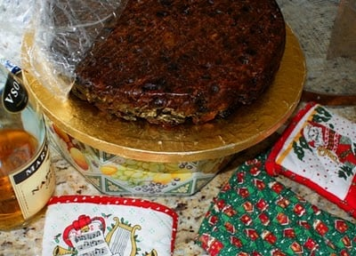 Christmas Cake New Zealand | Boulderlocavore.com
