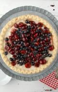 Cherry-Blueberry Cloud Pie | BoulderLocavore.com