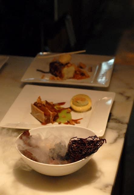 exotic molecular gastronomy desserts