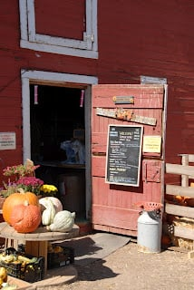 Store in barn at Berry Patch Farms