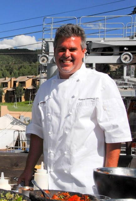 chef sandoval at snowmass culinary festival