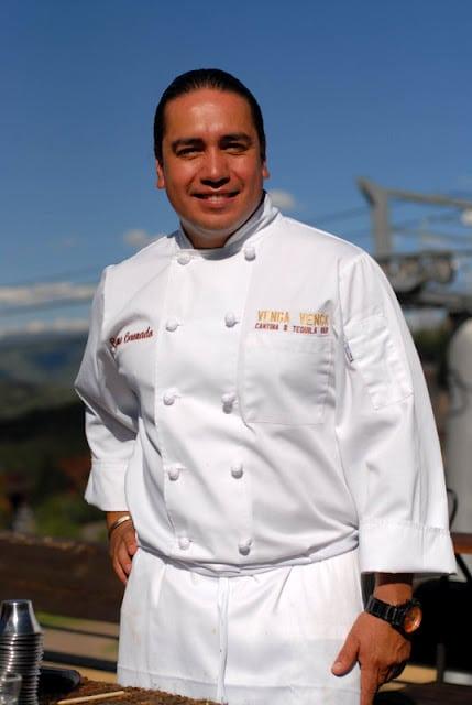 Chef wearing a uniform