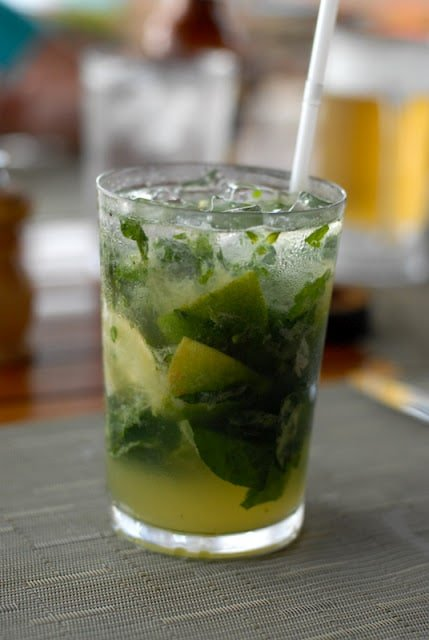 Costa Rican Basil Mojito and other local cocktails