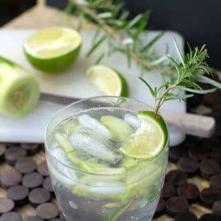 Farmer's Market Gin & Tonic cocktail BoulderLocavore.com