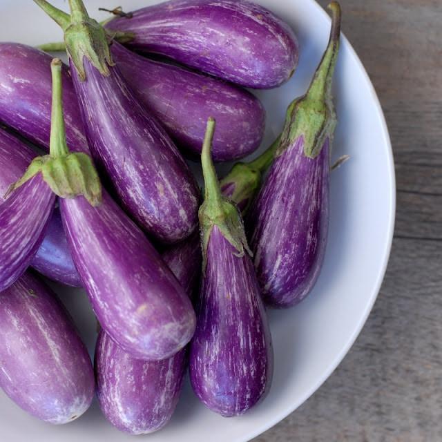 Grilled Fairytale Eggplant