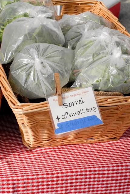 bags of sorrel