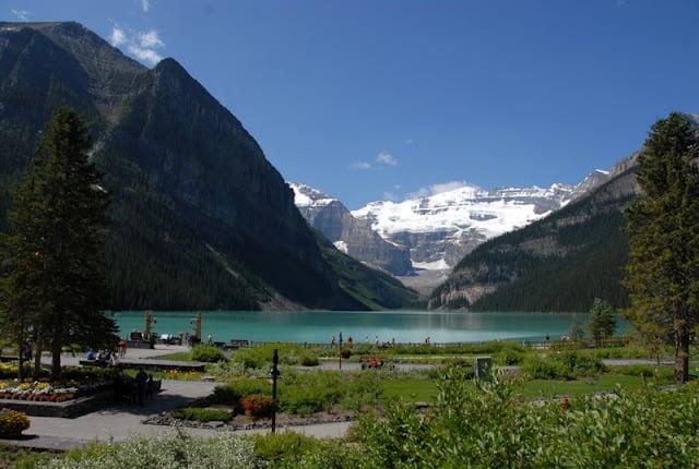 Lake Louise Glacier Drop