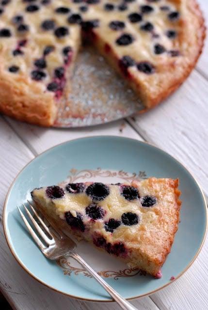 slice of soft shelled black raspberry tarts