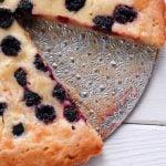 Black Raspberry Creme Soft Shelled Tart (Gluten Free)