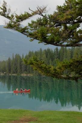 Lac Beauvert at the Fairmont Jasper Park Lodge