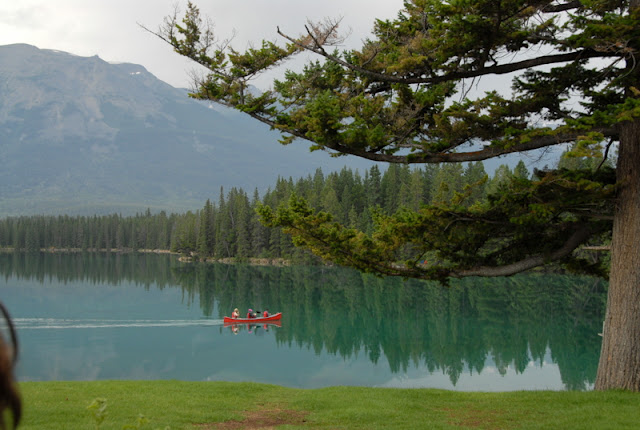 Lac Beauvert at the Fairmont Jasper Park Lodge | BoulderLocavore.com