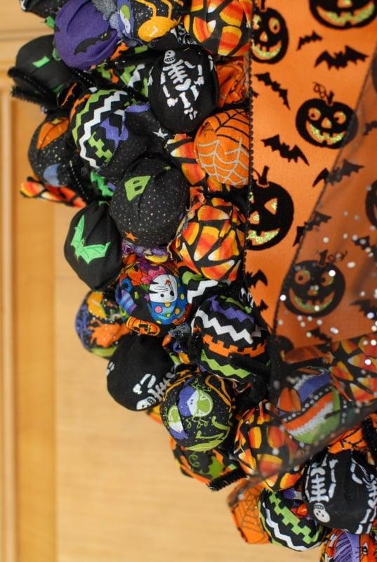 Halloween Wreath close-up | BoulderLocavore.com