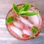 Strawberry Key Lime Mojitos