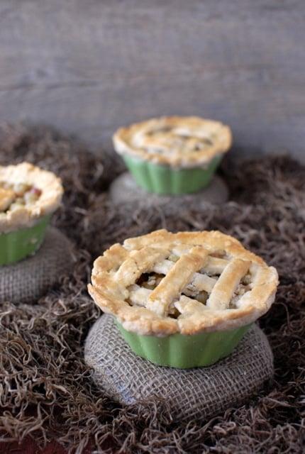 mini Gooseberry Pies