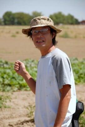 man talking at Zen Farm Brighton CO