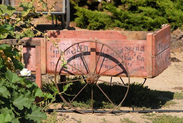 Old farm wagon BoulderLocavore.com