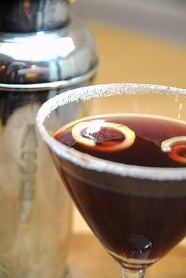 Pomegranate Martini recipe BoulderLocavore.com