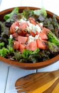 Simple Food: Watermelon Goat Cheese Summer Salad