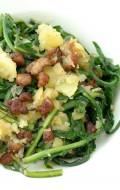 Warm Dandelion and Bacon salad | BoulderLocavore.com