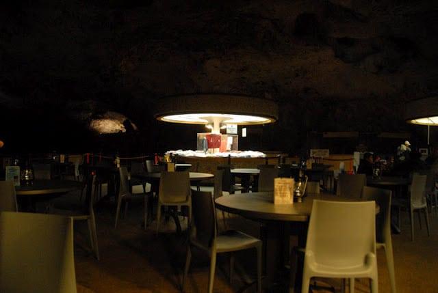 Carlsbad Caverns dining