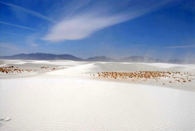 White Sands National Monument dunes