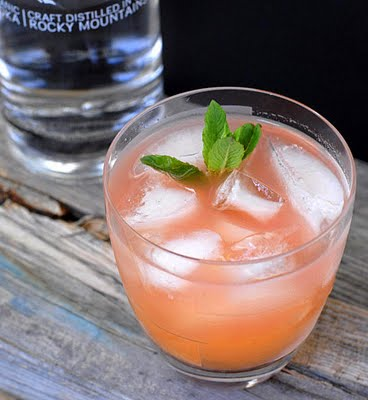 Vodka 14 and the Rhubarb Pie cocktail