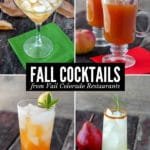Fall Cocktails from Vail Colorado Restaurants