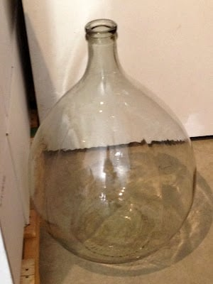 Large wine flask