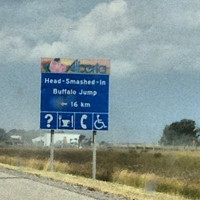 Funny road sign Canada | BoulderLocavore.com